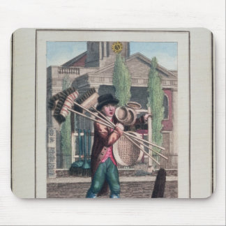 Hair Brooms, Shoreditch Church Mouse Pad