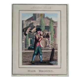 Hair Brooms, Shoreditch Church Poster