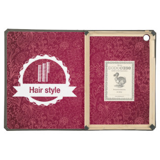 Hair Certifiers Pictogram Case For iPad Air