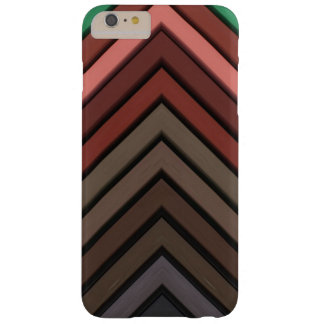 Hair Chalk Chevron Earthy Eco Colors Barely There iPhone 6 Plus Case