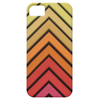Hair Chalk Chevron Warm Yellow Red Colors Case For The iPhone 5