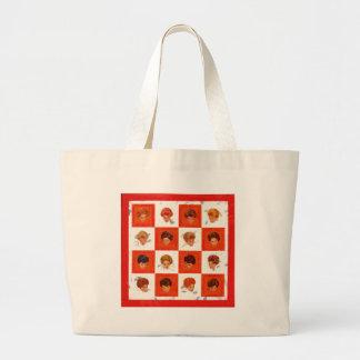 Hair Color Bingo Canvas Bags