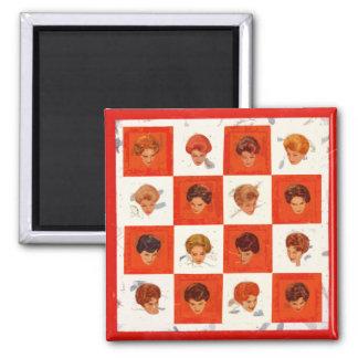 Hair Color Bingo Magnet