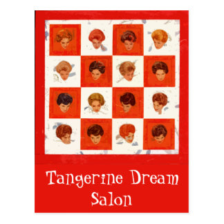 Hair Color Bingo Postcard