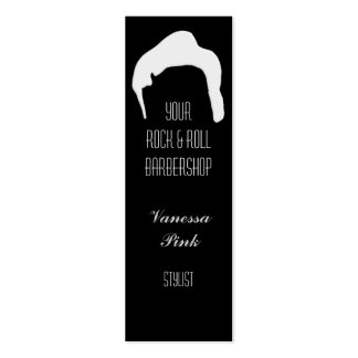 Hair Cosmetology Barber Salon Business Card