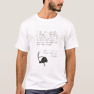 Hair cut from the head of Emperor Napoleon T-Shirt