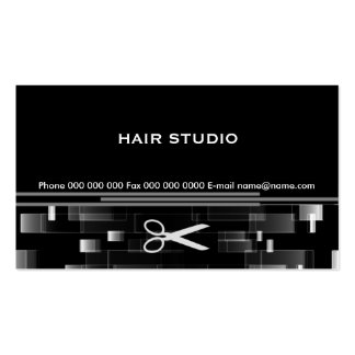 Hair Design Studio Double-Sided Standard Business Cards (Pack Of 100)