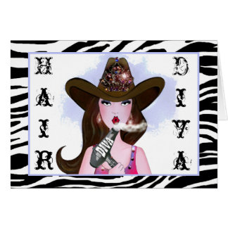 Hair Diva - You Rule! Card