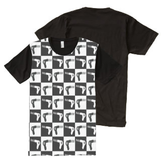 Hair Drier Pattern For Salon Hair Stylists All-Over-Print T-Shirt