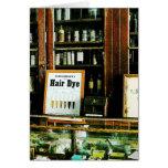 Hair Dye Greeting Card