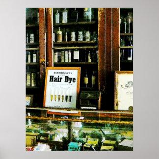 Hair Dye Poster
