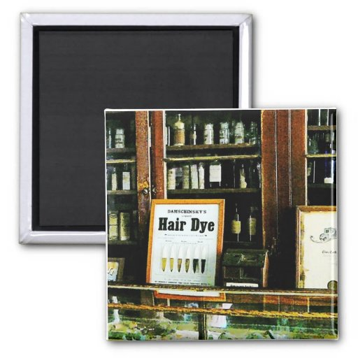 Hair Dye Refrigerator Magnets