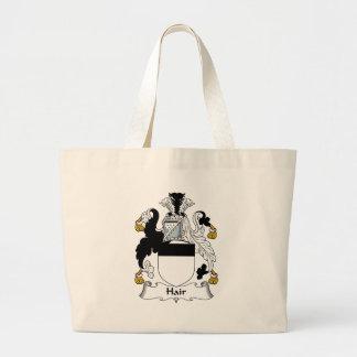 Hair Family Crest Canvas Bag