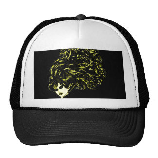 Hair Girl (Blonde) Trucker Hat