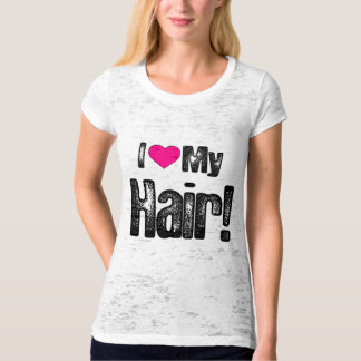 """Hair Growth Progress"" T-Shirt"