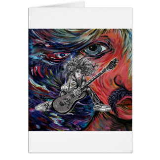 Hair Guitar Card
