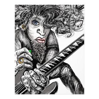 Hair Guitar Letterhead