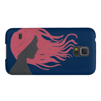 Hair in the Wind Case For Galaxy S5