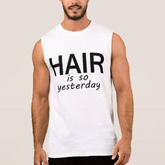 Hair Is So Yesterday Tee