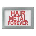 Hair Metal Forever Belt Buckle