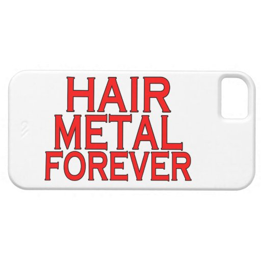 Hair Metal Forever iPhone 5 Cases
