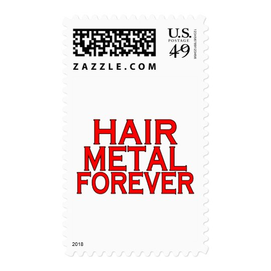 Hair Metal Forever Postage