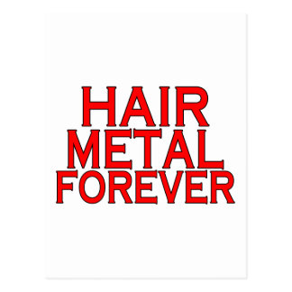Hair Metal Forever Postcards