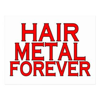 Hair Metal Forever Postcard