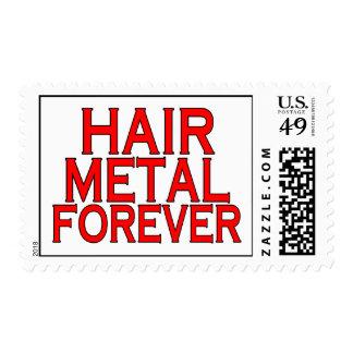 Hair Metal Forever Stamp