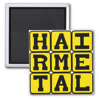 Hair Metal, Music Genre Magnets