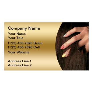 Hair Nail Salon Business Cards