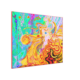 Hair of the Divine Universe Canvas Print