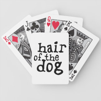 Hair of The Dog Bicycle Playing Cards