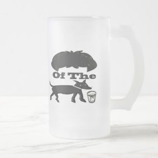 Hair Of The Dog (Drink) Frosted Glass Beer Mug