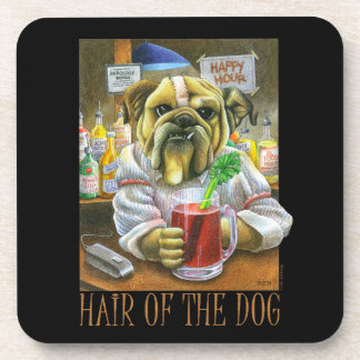 Hair of the Dog (Hangover Help) Beverage Coaster