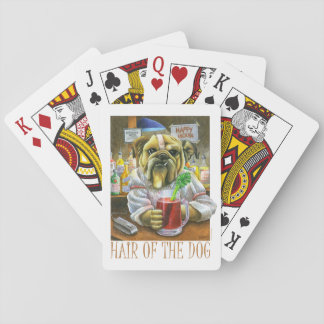 Hair of the Dog (Hangover Help) Playing Cards
