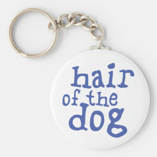 Hair of The Dog Keychain