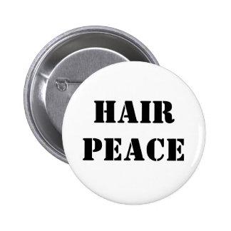 Hair Peace Button