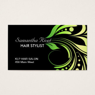 Hair Salon Appointment Business Card