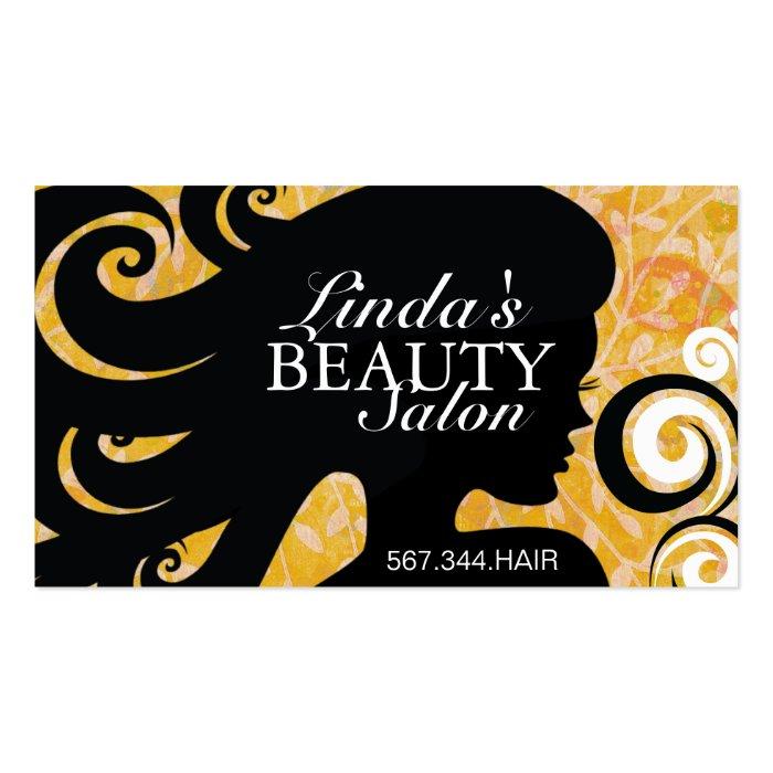 HAIR SALON BUSINESS CARD - Zazzle