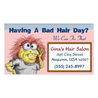 Hair Salon Business Card Templates