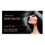 Hair Salon Business Card Business Card