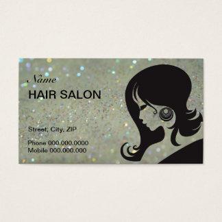 Hair Salon Business Card - choose your color