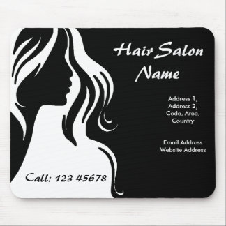 Hair Salon Business Theme Collection Mouse Pad