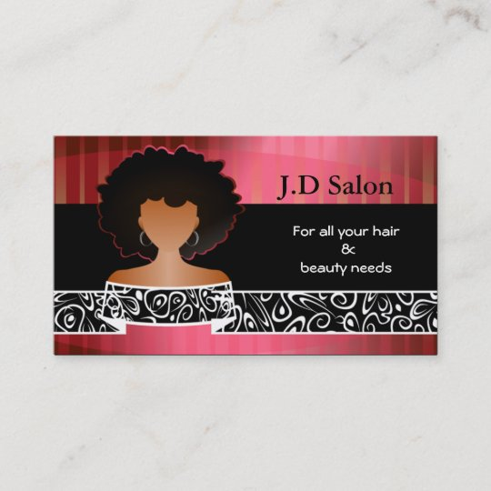 hair salon businesscards business card - Hair Salon Business Cards