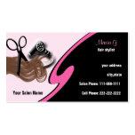 Hair Salon businesscards Business Card Template