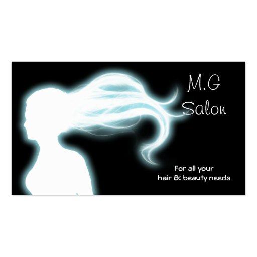 Hair Salon businesscards Double Sided Standard Business