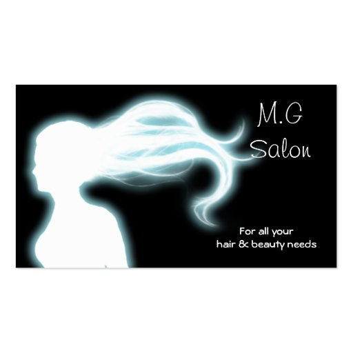 Hair Salon businesscards Double-Sided Standard Business Cards (Pack Of 100)