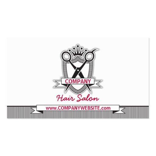 Hair Salon Professional Modern Business Card
