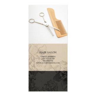 Hair Salon Services Price List {Beige} Full Color Rack Card